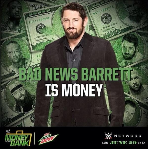 Competing or not, this is always where my $$ goes RT @Funtroon: If he is competing, then my money is on @WadeBarrett. http://t.co/zHnKpWjCsv