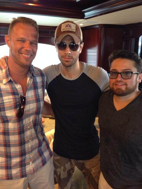 Starting Saturday up w/ @enrique305  on Claire #YachtLife http://t.co/SyjrwXssdr