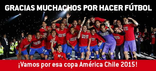 GRACIAS MUCHACHOS POR HACER FÚTBOL!! http://t.co/Jspi3gNIzl