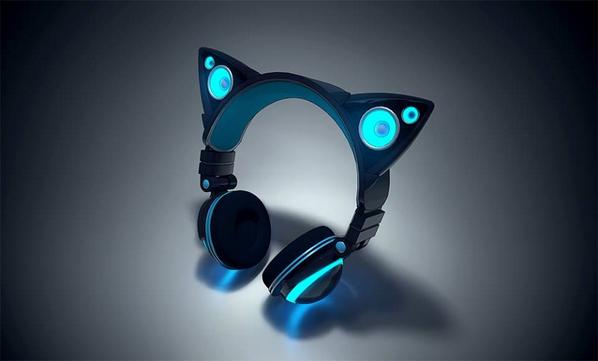 """@beep_roadrunner: 猫耳がスピーカーになるヘッドフォン「Axent Wear」、Kickstarterに登場へ - アプリオ http://t.co/EgmsMPh6pC http://t.co/ZfIDbNoOUM""猫耳!!"