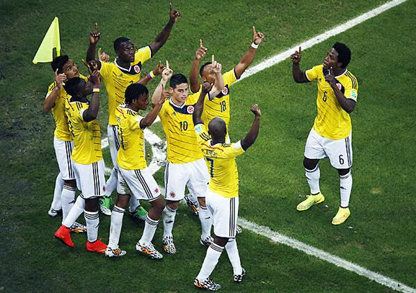#Colombia makes history in the #WorldCup http://t.co/08dMV6HU9e http://t.co/j4vSZhpifk