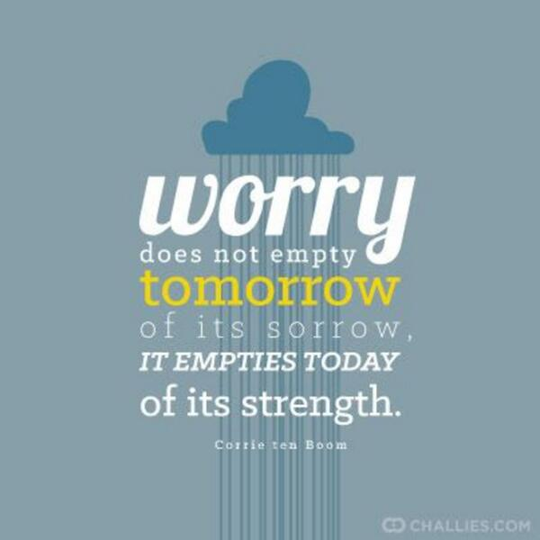 How are you doing with worry? http://t.co/37DAX2508N