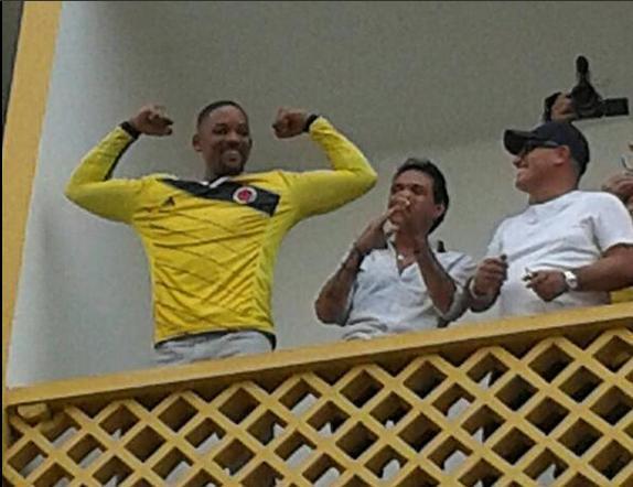 Will Smith se dejó contagiar por la fiebre amarilla http://t.co/gmizBw0fJb http://t.co/1Uj9EI4AUf