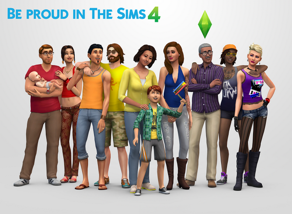 Be proud in #TheSims4! RT @TheSims: http://t.co/i44vx2bitO