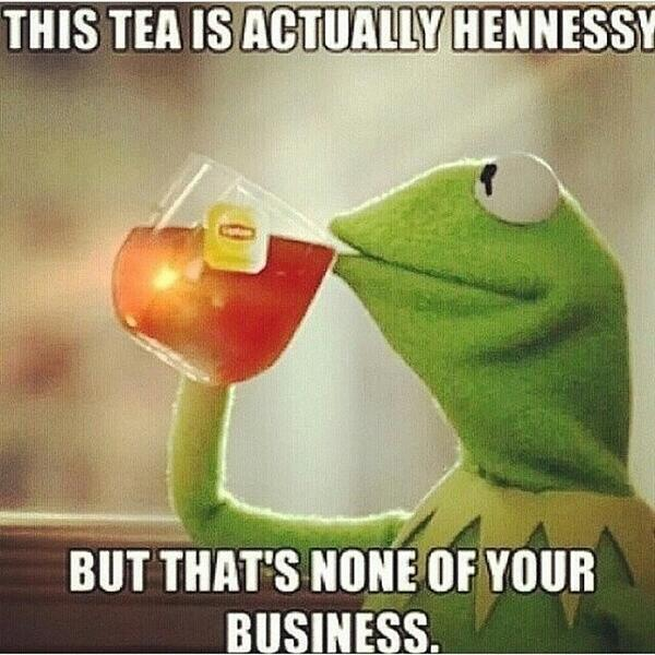 Kermit The Frog Drinking TeaKermit The Frog Drinking Tea