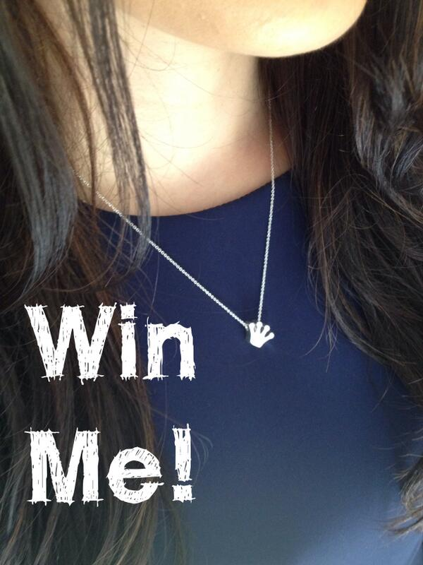 Win this cute little crystal Crown Necklace just RT and Follow ends 8/7 midday #competition #win #giveaway #freebie http://t.co/KVnCktj71R