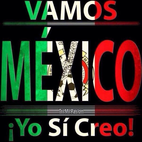 Todos juntos creemos en ti @miseleccionmx !!!! #VamosMexico #MEX http://t.co/btilk0qZAx