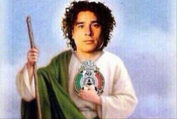 Que San Ochoa nos proteja! #MéxicoEresMiTodo http://t.co/Ig7qAgU22k
