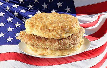 America doesn't waffle. #BeatBelgiumWithBiscuits #USA http://t.co/ZkUrE7z5wo