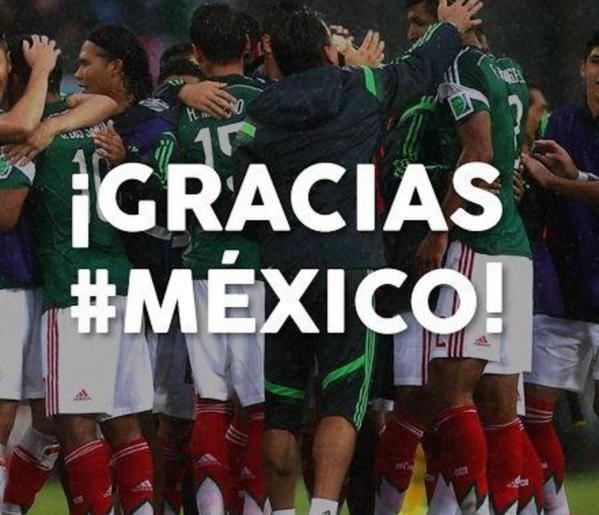 #FortalezaMexicana #mexicovsnetherlands #GraciasMiSeleccion #ATRIturarLaNaranja #3PalabrasParaElArbitro http://t.co/t1ESf4SiFg