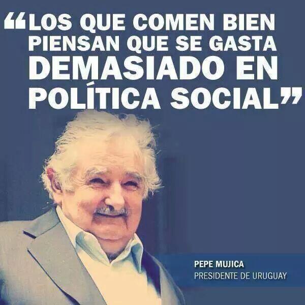 Pepe Mújica, verdades como puños: http://t.co/2v5V8hN450