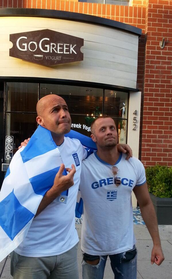Hell of a game. Great effort Greece, to have come this far. Bravo.. http://t.co/y0YtMSehDd