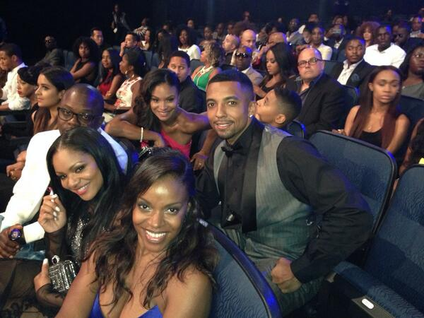 @letsstay2gether ready for #BETawards @ericahuubbard @ChristianKeyes @joyfuldrake http://t.co/gn9ETyy646
