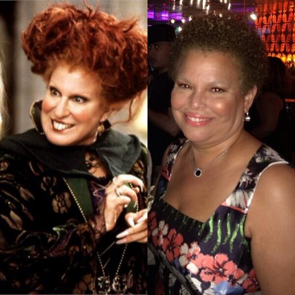 OMGGGGG RT @NaturallyChels: I knew Debra Lee reminded me of someone. http://t.co/Y6aSQi24y2