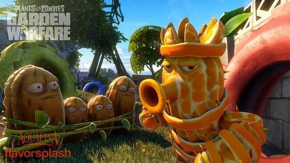 Plants vs. Zombies (@PlantsvsZombies): #PvZGW Coming soon - Citrus Cactus! http://t.co/yKdQO2EYhy