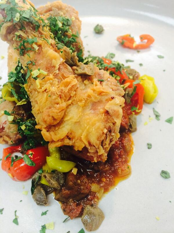 Southern Fried Chicken Cacciatore coming soon to the Trattoria Menu @VOLT_AGGIO #Baltimore http://t.co/SIsH6bIiiF