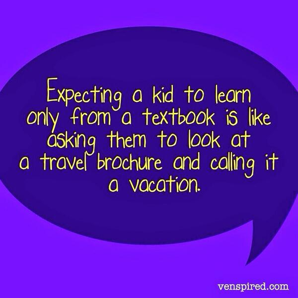 Great quote from #ISTE2014 related to the use of Technology in the Classroom...or lack of... http://t.co/FJq4vJL0RN