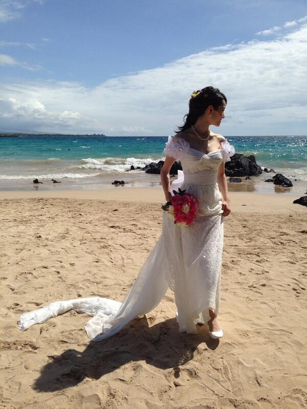 Wedding...in Hawaii♡ http://t.co/tE6TufRlh7