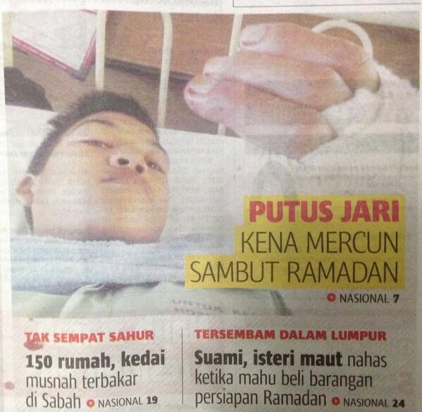 Fenomena yang melanda umat Melayu saja khasnya di kalangan budak tahun demi tahun. http://t.co/fIR7XCGmyQ