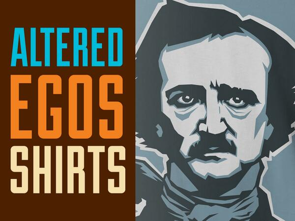 Our t-shirt #kickstarter is now live! https://t.co/DLgB6DEpBo We love #poe #rasputin #tesla #lovecraft #altered_egos http://t.co/mvJBhGWl4x