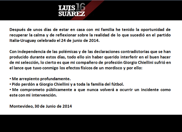 Mis disculpas @chiellini http://t.co/kMtGJHlId9