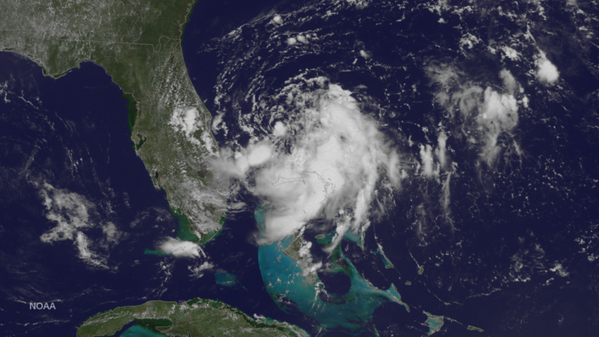 Cool satellite view of the disturbance, courtesy of NOAA. http://t.co/I7PdI7uZRk