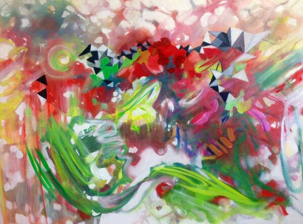 """'Before You Were Born' 36""""x48"""" oil on canvas... #art #painting http://t.co/x1xA7oHEUP"""
