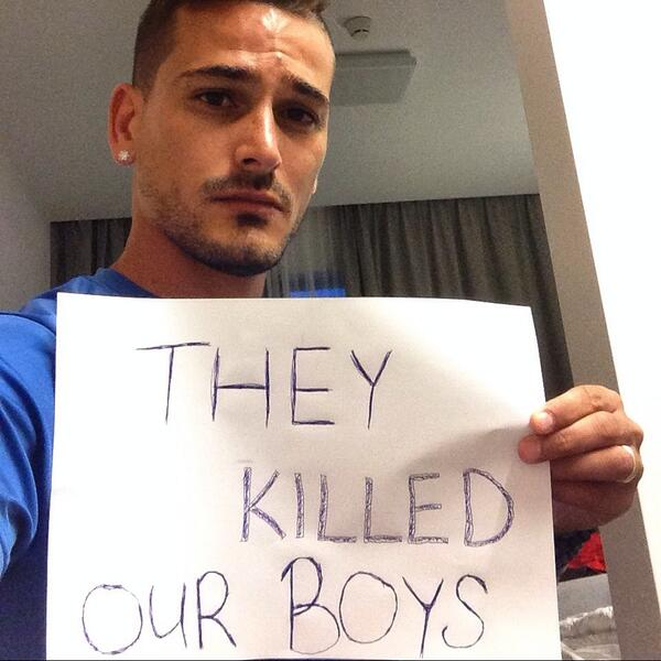 They KILLED our boys! They KILLED our boys! They KILLED our boys! http://t.co/xKVlvfOih0
