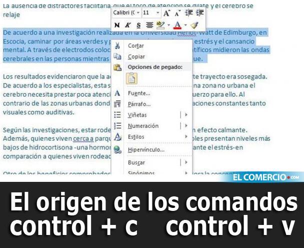 #Curiosidades / ¿Sabe quién invento los comandos 'copiar y pegar'? » http://t.co/w65HRXAMFa http://t.co/APmuVi2jN7