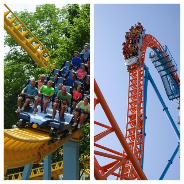 COASTER POLL! What's your fave #Hersheypark coaster? Vote Skyrush w/a RT or Fahrenheit w/a Favorite! Go! http://t.co/HvWF9ZEsgt