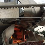 Cant get enough of the Pritzker Pavilion structure Chicago #architecture http://t.co/QORQxFDLLv #architecture