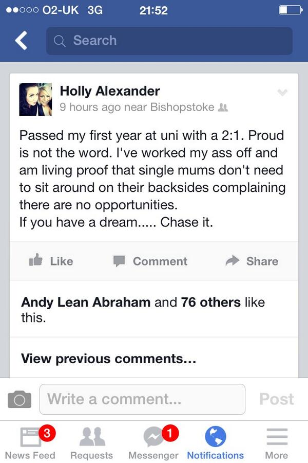 #BenefitsBritain makes me so mad. Anyone on this TV show should read my fb status today. #noexcuses http://t.co/bfK6NvHOGx