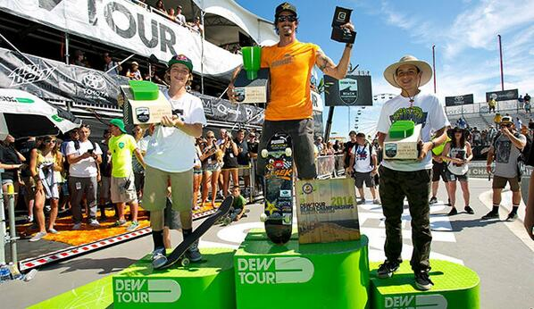 Congrats to @tomschaar who took 2nd in Skate Bowl at Ocean City @DewTour! http://t.co/CPA8KP6Sbj