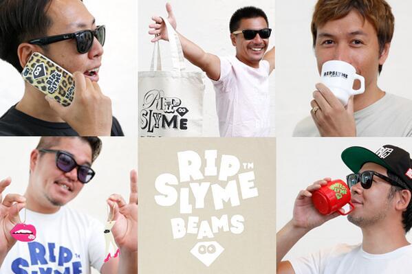 """RIP SLYME presents """"真夏のWOW""""とのコラボ商品を発売!ファイヤーキングのマグカップ、Tシャツやトートバッグなど """"真夏のWOW""""会場の他ビームス タイムでも販売! http://t.co/BO7ZulVCYJ http://t.co/ZFsaLFP0xY"""