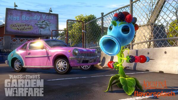 Plants vs. Zombies (@PlantsvsZombies): #PvZGW Coming soon - Berry Shooter! http://t.co/T0V58jLNxc