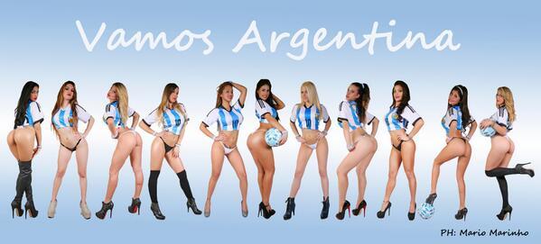 Hoy todos somos hinchas de la Seleccion @Argentina !!! Dale RT @nachogoano http://t.co/BsxtXuZzHF