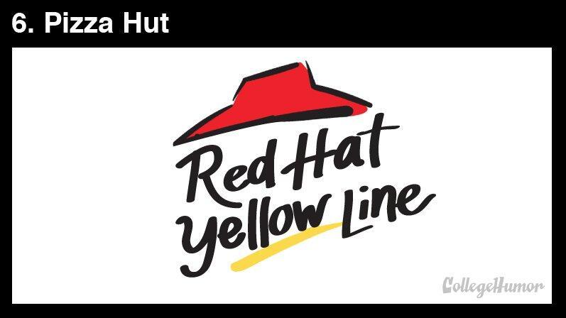 RT @CollegeHumor: If Logos Were Extremely Literal http://t.co/GDcf5fwsPn @pizzahut http://t.co/dMLHH2Gvsu