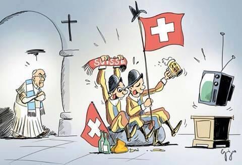 Argentina vs Switzerland :) #Brasil2014  #ArgentinaVsSwitzerland #ArgentinaVsSuiza  #argentinasvizzera http://t.co/xBFhANFxHo