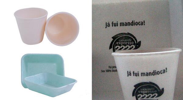 Empresa brasileira inova e cria plástico sustentável feito de mandioca Veja mais em >>http://t.co/LnOCviOX2H<< http://t.co/srPFxSC2q1