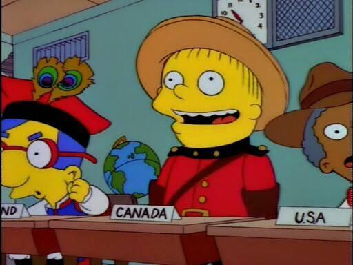 Happy Canada Day #OCanada #TheSimpsons http://t.co/zrMZSegqXY