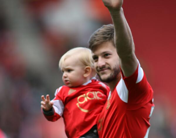 Adam Lallana has taken a full page advert in tomorrow's @dailyecho to say thanks to all #saintsfc fans. http://t.co/4twBPFIXP1