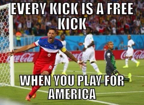 "Land of the free, home of @clint_dempsey! #USA #IBelieve  ""@seanybrown2: @D6MERIT u agree Jay? http://t.co/IroA01Hn9q"""
