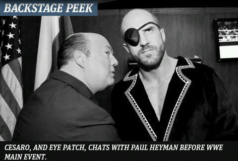 Making an eyepatch look iconic #MainEvent #sagat #tigeruppercut #villain @WWENetwork  http://t.co/zVFZVW09Zf