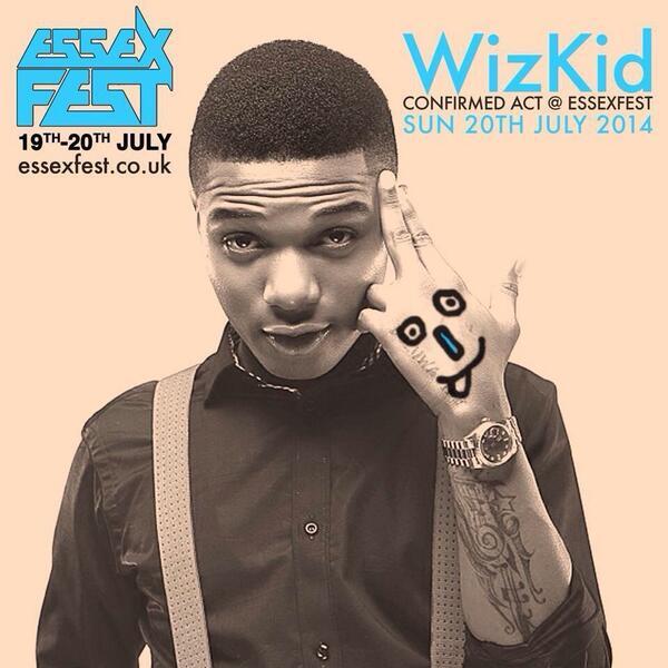 @wizkidayo Live at #EssexFest2014