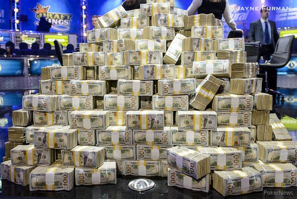 Wonder what $15.3 million looks like? #Big1Drop http://t.co/IyoM3J7ZjS http://t.co/vxszanwJib