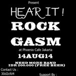 "RT @gigsmedia: Hear It ""ROCKGASM"" 14 Agustus 2014 At.Phoenix Cafe .INFO : @freak_gig http://t.co/v3xOpV0vLu"