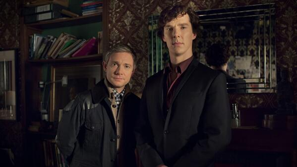 Confirmed! #Sherlock to return to @BBCOne for a Special and 3 new episodes http://t.co/wZ0rQuDpEo #221back http://t.co/bGU576ggzQ