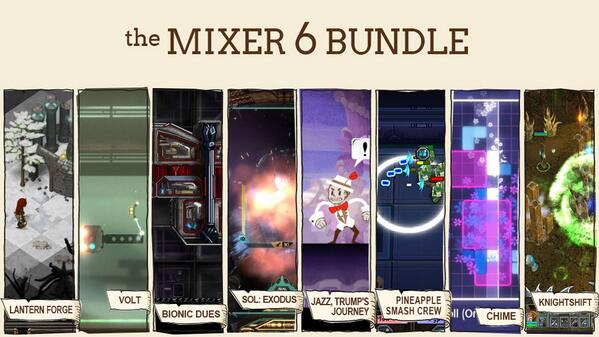 The games that are in the Mixer 6 bundle are .... http://t.co/CtZ2w6tZJJ
