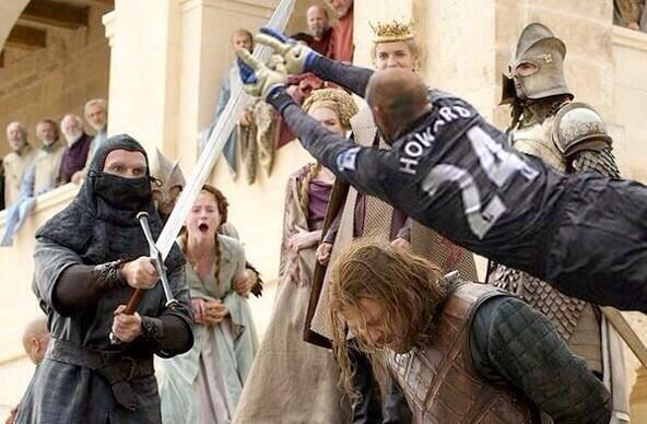 . @TimHowardGK could have saved Ned Stark. http://t.co/rAj3hHU4VW