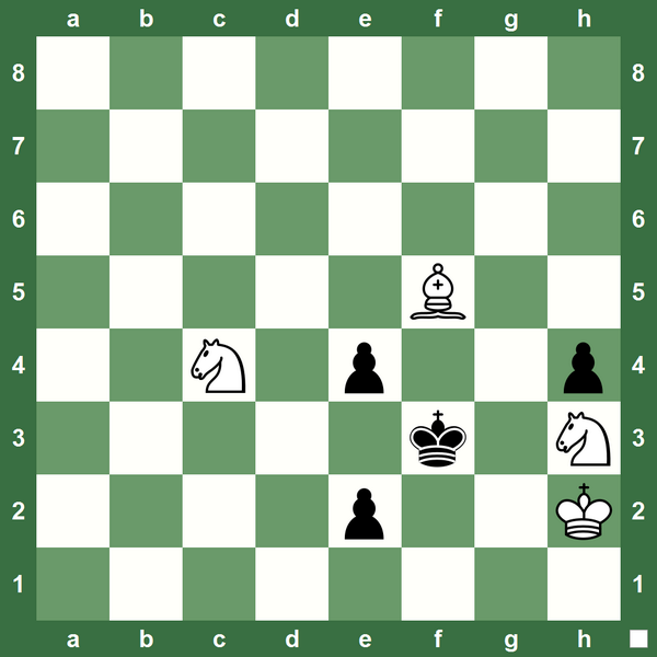 Henry William Barry #Chess Study 1901 - White Checkmates in Two http://t.co/Hc0FpUB7yx http://t.co/1kLIIb69DC